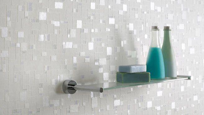 papier peint effet miroir | papier-peint-imitation-mosaiquecollection checker chez Graham&Brown ...