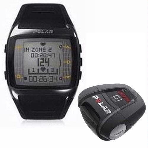 Polar FT60G1 Men's Heart Rate Monitor Watch with G1 GPS Sensor (Black with White Display) by Polar. $225.94. Amazon.com                The smartest way to better fitness, the Polar FT60G1 men's heart rate monitor watch helps you stay motivated and improve your conditioning. The FT60G1--which comes with a G1 GPS sensor that measures your speed and distance during outdoor sports--works by first checking your daily condition, and then guiding you to the ideal training intensity for...