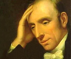 William Wordsworth was one of the greatest English poets who, along with other poet and friend Samuel Coleridge, ushered in the English Romantic faction.
