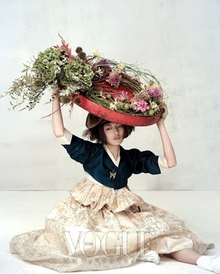 Korea Through My Eyes: Vogue Korea: Wedding Hanbok