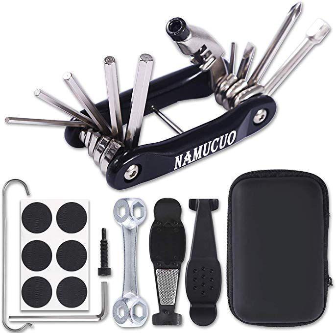 Namucuo Bike Repair Kit Bicycle Tool Kit With 10 In 1 Multi