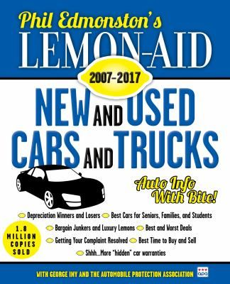 """The 2017 Lemon-Aid has everything: an encyclopedic lineup of the best and worst cars, trucks, and SUVs sold since 2007; secret warranties and tips on the """"art of complaining"""" to help you get your money back; and new-car buying tips that will save you tons of money by revealing the inflated cost of fancy and frivolous add-ons."""