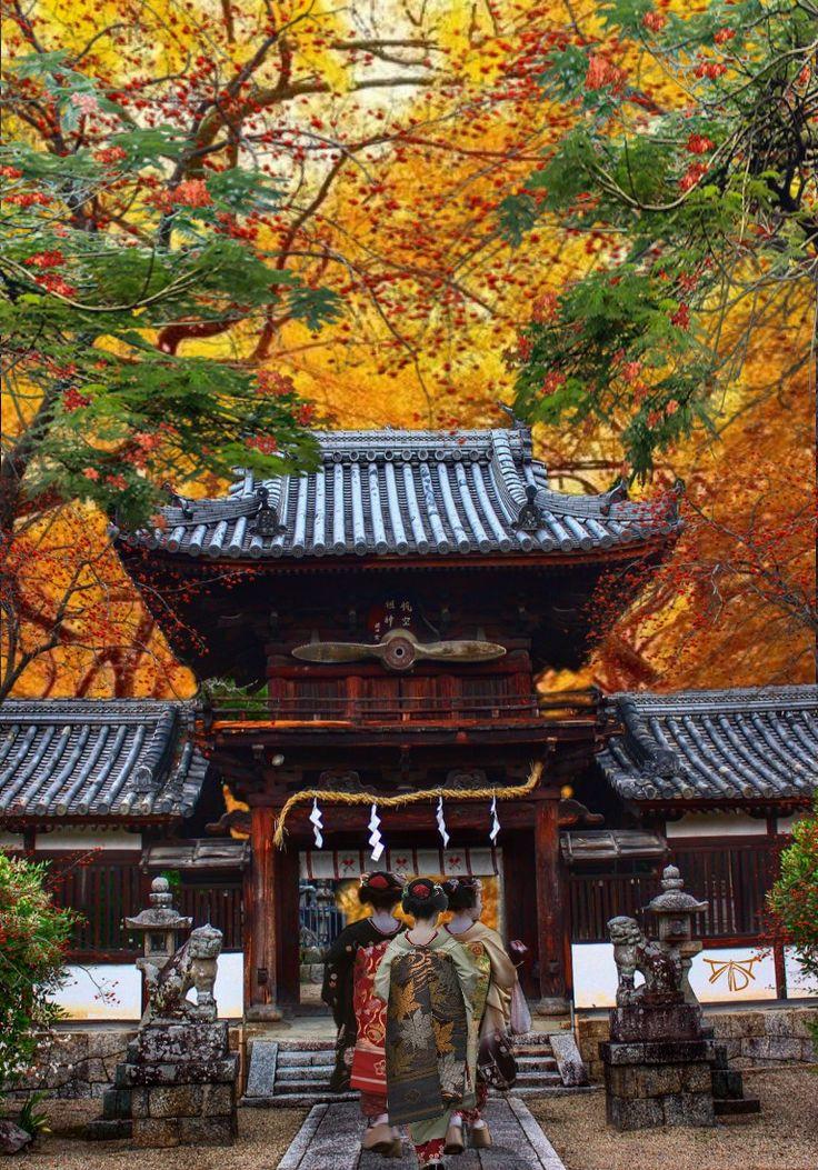Santuario Romon-jinja, Kyoto