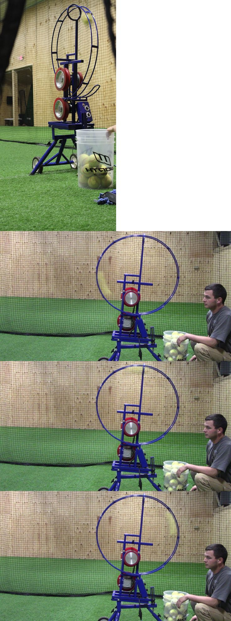 Pitching Machines 58061: Softball Pitching Machine With A Windmill Motion Designed For Fastpitch Only -> BUY IT NOW ONLY: $1995 on eBay!