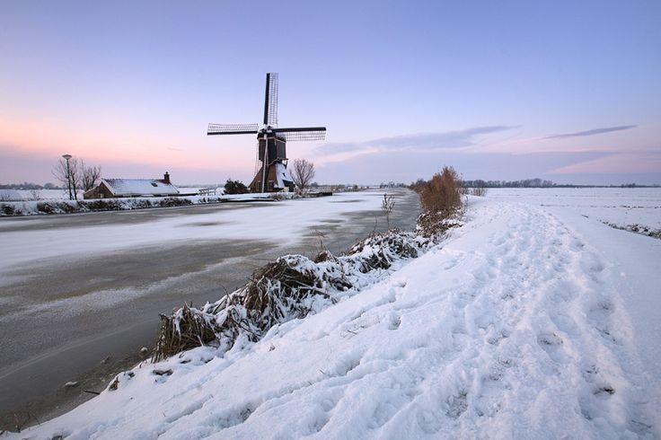 Dutch snowscape