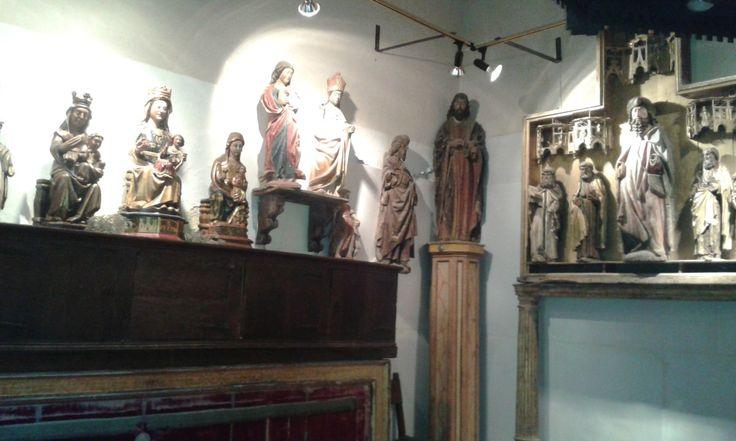 Museo de la Colegiata. Vírgenes góticas **
