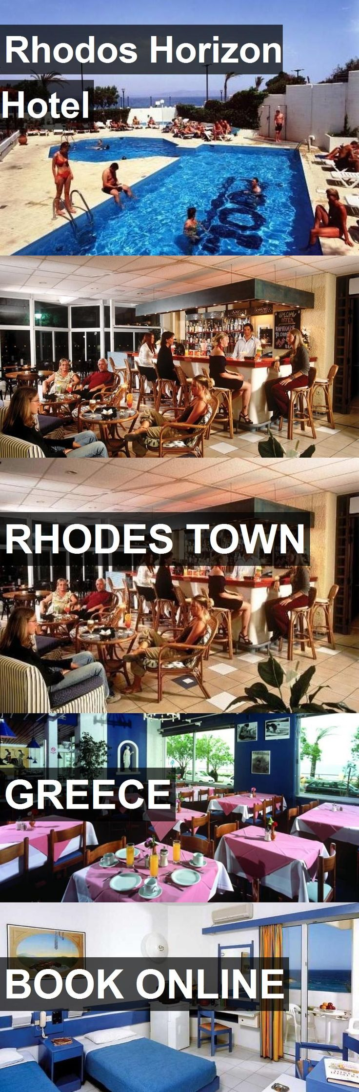 Hotel Rhodos Horizon Hotel in Rhodes Town, Greece. For more information, photos, reviews and best prices please follow the link. #Greece #RhodesTown #RhodosHorizonHotel #hotel #travel #vacation