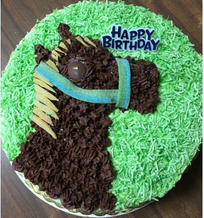 Kid Horse Cake