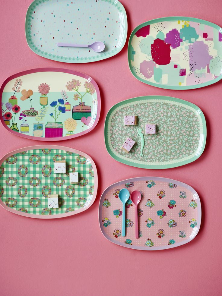 Cool Melamine Plates - AW16