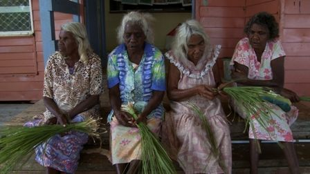 Oldgirls are dedicated to 'passing down traditional practice knowledge'. All are master weavers and peers in in the Lockhart River Aboriginal community.