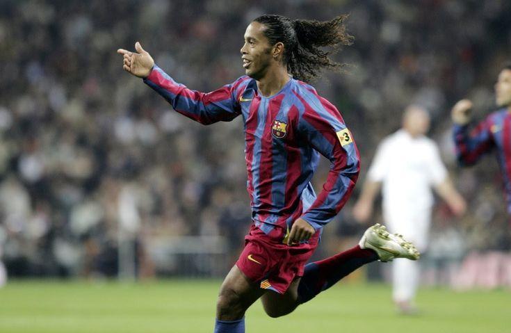 Goles en el Bernabéu: la magia de Ronaldinho en 2005//pura alegría ver a Ronaldinho