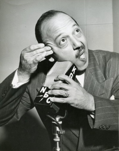 Mel Blanc, the voice of Bugs Bunny.
