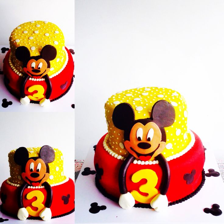 Torta Cumpleaños Mickey Mouse. Tata-Sabores Tortas & Postres.