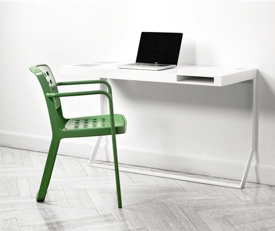 'Mini Milk' desk by Søren Rose Studio for Holmris Office (DK)