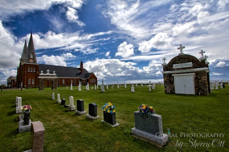 Mount Carmel church and cemetery – full of architectural and island history.