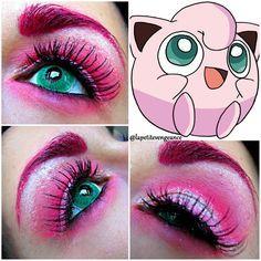 jigglypuff makeup - Google Search