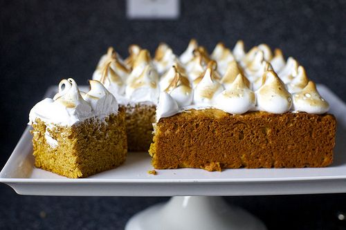 Sweet Potato Cake with Marshmallow Frosting | 31 Delicious Things To Cook In December