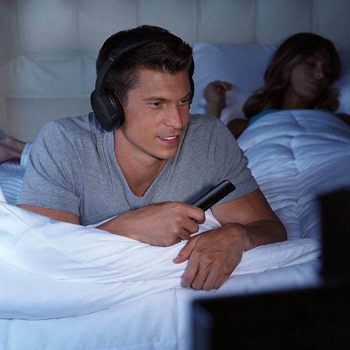 Wireless TV Headphones from Brookstone for 64.99 for Deborah