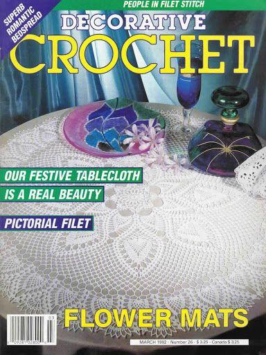 Decorative Crochet Magazines 18 - Jordana Arnas Castanheira de Almeida - Picasa Web Albums