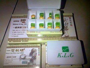 KLG adalah produk herbal dari canada yang ampuh untuk memperpanjang dan memperbesar alat vital.KLG Yang Di Racik & Di R