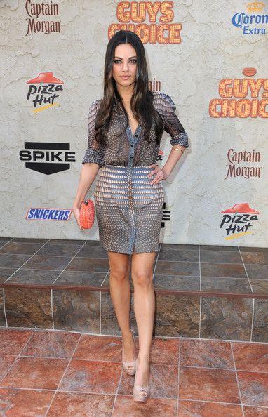 """Mila Kunis - Spike TV's 5th Annual 2011 """"Guys Choice"""" Awards - Arrivals"""