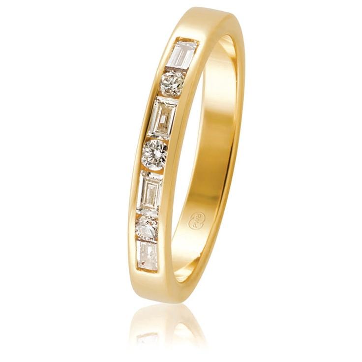 Yellow Gold Channel Set Diamond Wedding Ring  $2270
