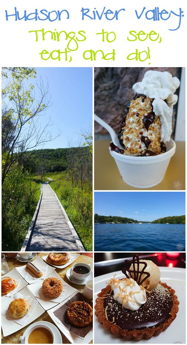 The Hudson River Valley in New York has so much to offer! Check out what you can eat and do!
