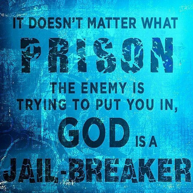 """There is power in the name of Jesus to break EVERY chain...""  Tamala Mann"