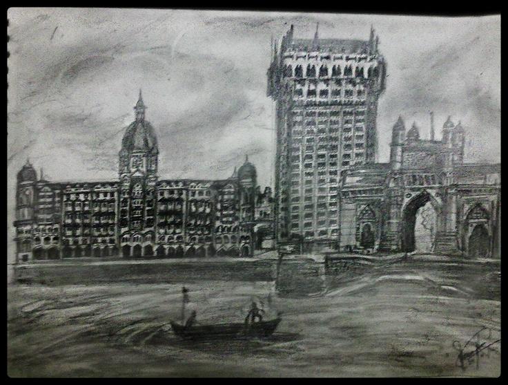 The Taj Hotel, Bombay, India.