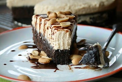Peanut Butter Brownie Cake