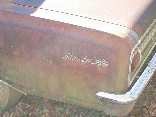 1965 Chevelle Malibu SS Barn Find