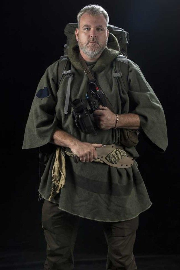 Survivalist Alan Kay from History Channels 'Alone'. Team Alan!