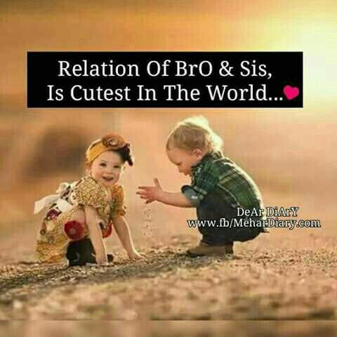 Sis & bro | Brother quotes, Brother sister quotes, Sibling ...