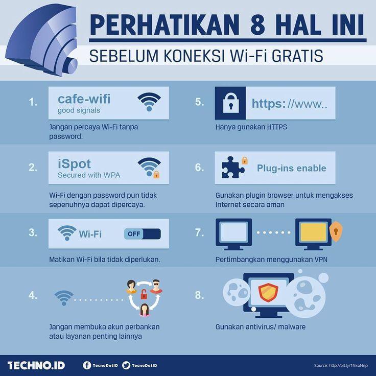 Perhatikan 8 hal ini sebelum koneksi Wi-Fi gratishttp://bit.ly/1NxoNnp