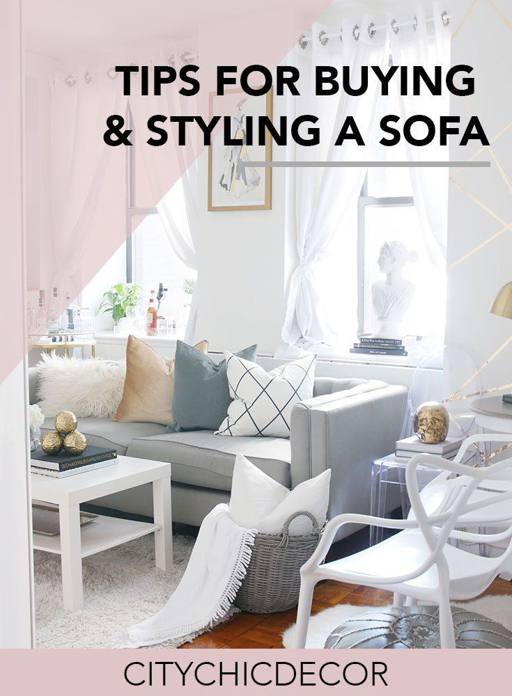 my tips for buying styling a couch living room studio rh pinterest com