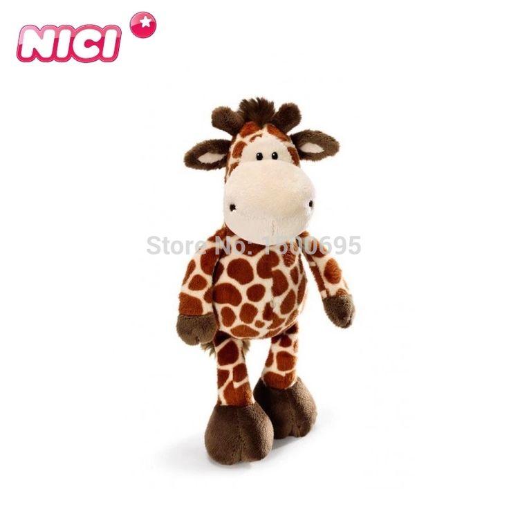 35 см олень кукла ожесточенные jungle brothers плюшевые игрушки подарок на день рождения 1 шт. бесплатная доставка ники новый горячий дети день рождения подарок