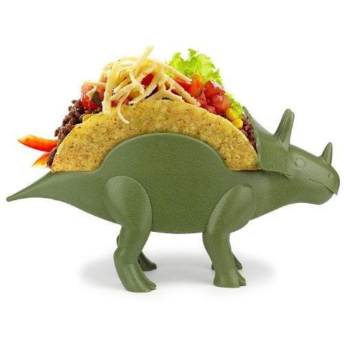 TriceraTaco Dinosaur Taco Holder – The Bento Buzz
