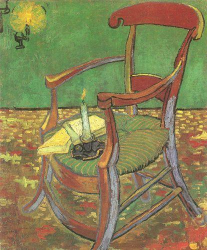 La sedia di Paul Gauguin - 1888 - Van Gogh - Opere d'Arte su Tela - Listino prodotti - Digitalpix - Canvas - Art - Artist - Painting