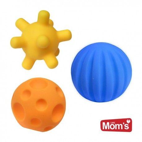 Zabawa zabawą, nie zapominajmy o edukacji :)    Już dla dzieci od 0+ 3 miękkie, gumowe piłeczki edukacyjne od Hencz Toys 871.     Każda z piłeczek ma inny kolor oraz fakturę. Piłeczki można rzucać, turlać, a także ściskać.    O ich zaletach dowiecie się na stronie:)    Miłego poniedziałku:)    http://www.niczchin.pl/zabawki-do-kapieli/3638-hencz-toys-871-pileczki-edukacyjne.html    #hencztoys #piłeczkiedukacyjne #zabawki #niczchin #kraków