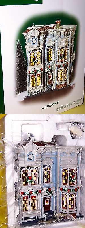 Christmas Collectible Department 56: Dept 56 Lowry Hill Apartments Christmas In The City, Nib -> BUY IT NOW ONLY: $80 on eBay!