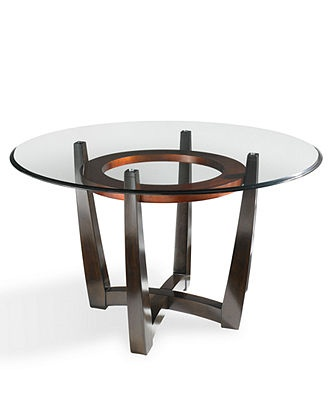 Cappuccino Glass Top Table 54 Quot Dining Room Furniture