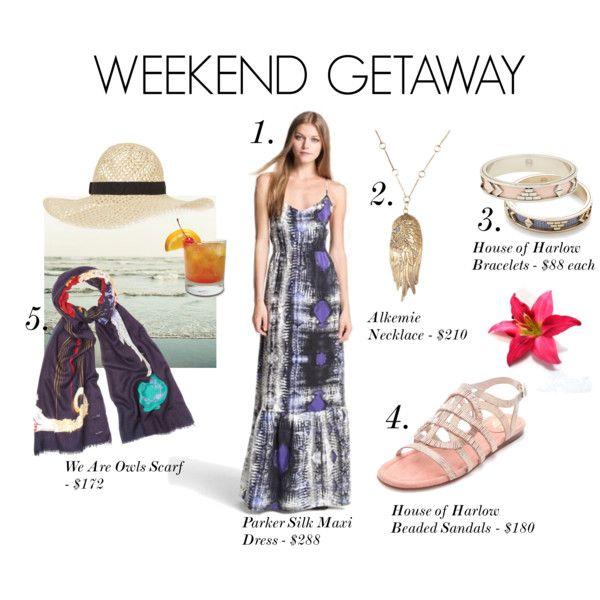 Weekend Getaway by showroomsf on Polyvore