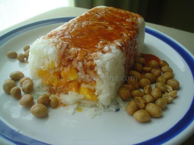 Molde de jícama y mango  #botana #snack #recipe