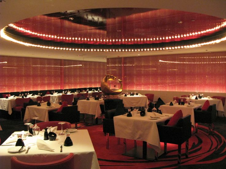 FileW Hotel Hong Kong Fire Restaurant Interior