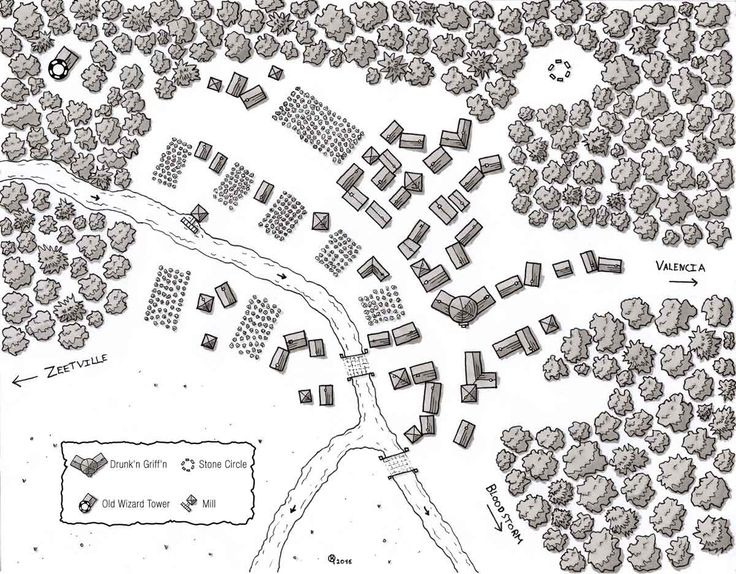 map village maps fantasy town dd river rpg dungeon medieval game pen quality