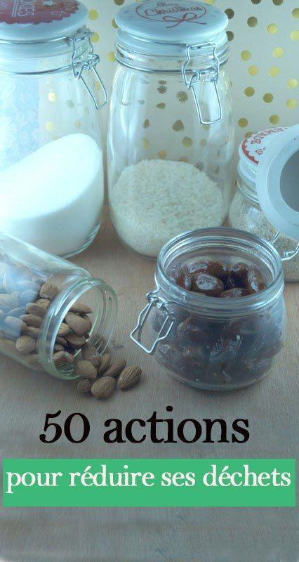 50 actions pour réduire ses déchets ménagers - zero dechet - Le monde de Justine