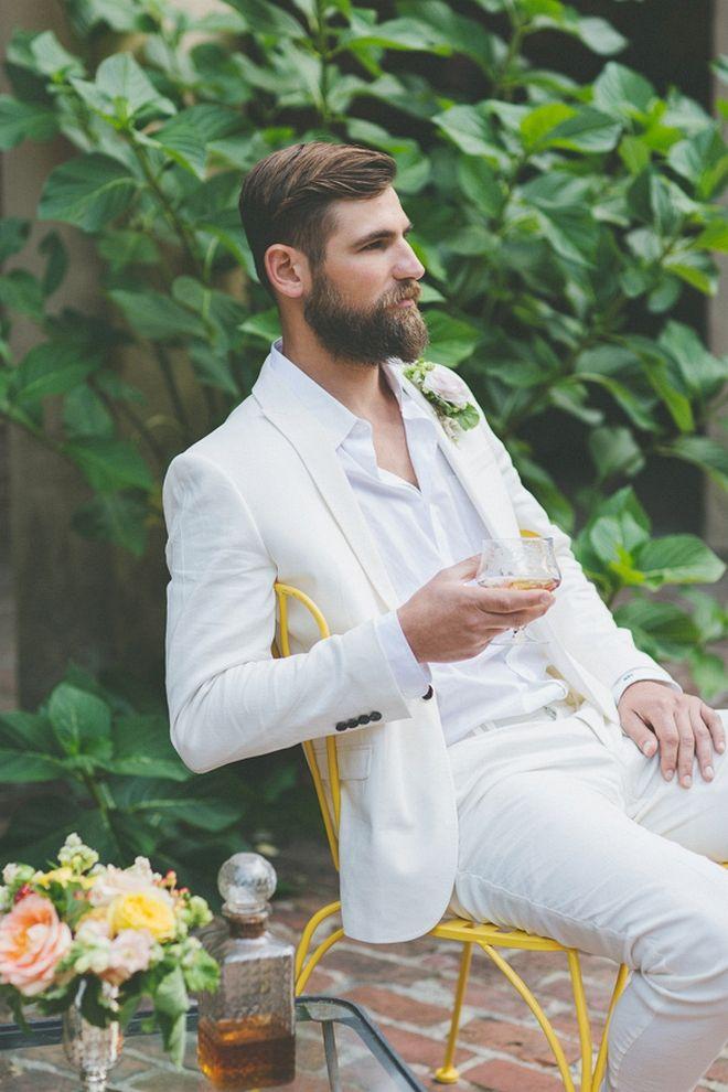 The Best Stylish Beach Wedding Groom Attire : 100+ Cool Ideas https://bridalore.com/2017/07/03/stylish-beach-wedding-groom-attire-100-cool-ideas/