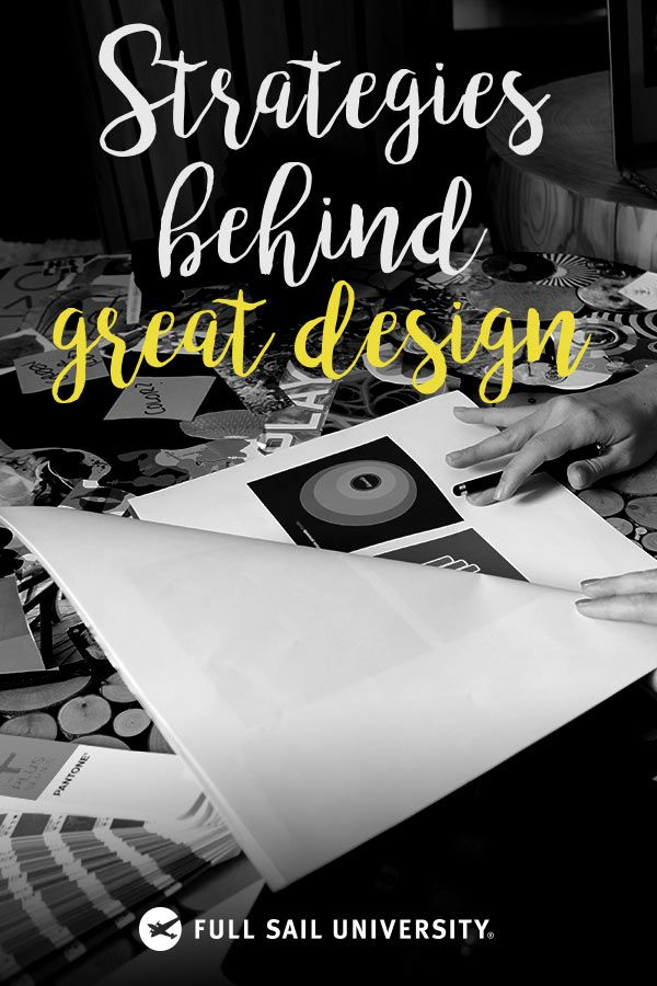 Great design isn't just about creativity. Learn effective strategies for developing brand campaigns and design pieces that resonate by earning your online Media Design Master's degree from Full Sail University.