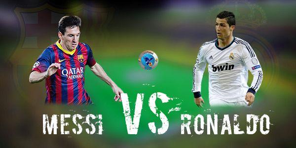 Cristiano Ronaldo vs Lionel Messi Stats