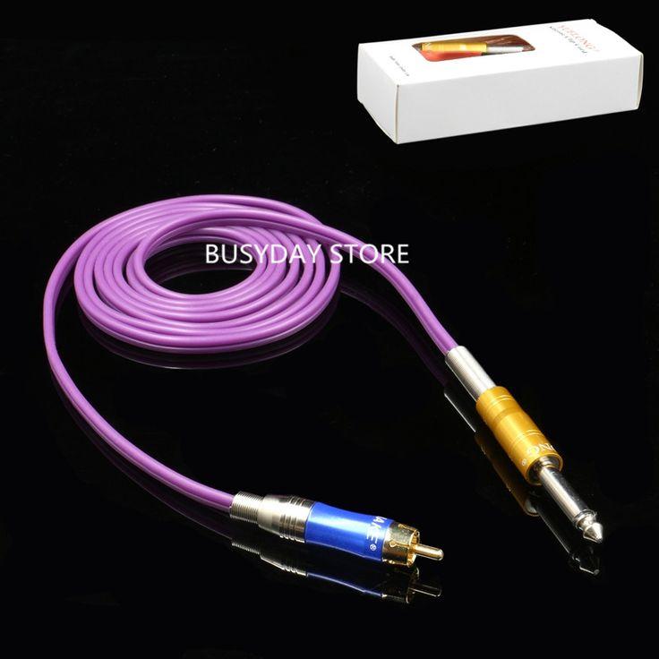 Yuelong RCA мягкого силикона тату клип мозга 1.8 м фиолетовый татуировки питания TP-2109